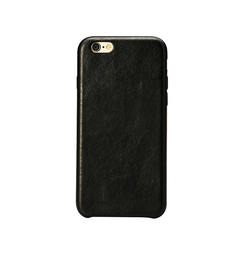 iPhone 6 / 6s | iPhone 6/6s - SuperiorFlex Læder Bag Cover / Etui - Sort - DELUXECOVERS.DK