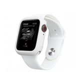 Apple Watch 42mm | Apple Watch (42mm) - Pro+ Silikone Taske / Cover - Hvid - DELUXECOVERS.DK