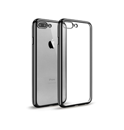 iPhone 7/8 Plus - Valkyrie Silikone Hybrid Cover - Sort - DELUXECOVERS.DK