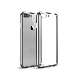 iPhone 7/8 Plus | iPhone 7/8 Plus - Valkyrie Silikone Hybrid Cover - Sølv - DELUXECOVERS.DK
