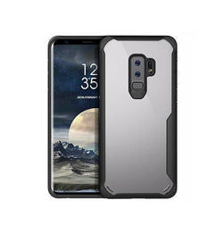 Samsung Galaxy S9+ | Samsung Galaxy S9+ (Plus) - ImpactShield Håndværker Cover - Sort - DELUXECOVERS.DK