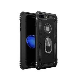 iPhone 7/8 Plus | iPhone 7/8 Plus - NX Pro™ Armor Cover m. Ring Holder - Sort - DELUXECOVERS.DK
