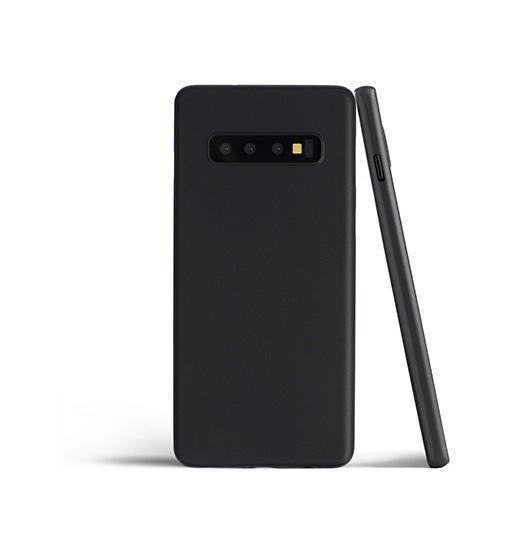 Samsung Galaxy S10 | Samsung Galaxy S10 - Matte Ultratynd Cover V.2.0 - Sort - DELUXECOVERS.DK