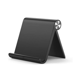 DelX S1 Holder i Foldbar Design til Smartphone & Tablet - Sort - DELUXECOVERS.DK