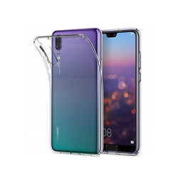 Huawei P20 | Huawei P20 - Ultra-Slim Silikone Cover - Gennemsigtig - DELUXECOVERS.DK