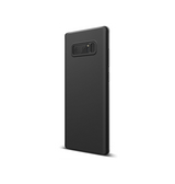 Samsung Note 8 | Galaxy Note 8 - Original Liquid Silikone Cover - Sort - DELUXECOVERS.DK