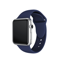 Apple Watch 42mm | Apple Watch (42-44mm) -  PRO+ Silikone Sportsrem - Navy blå - DELUXECOVERS.DK