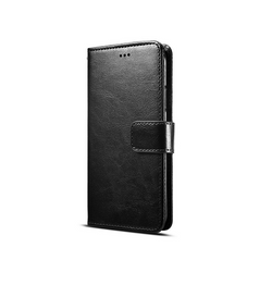 Samsung Note 8 | Galaxy Note 8 - Retro Diary Læder Cover M. Pung - Sort - DELUXECOVERS.DK