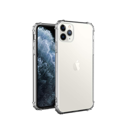 iPhone 11 Pro Max | iPhone 11 Pro Max - Silent Stødsikker Silikone Cover - DELUXECOVERS.DK