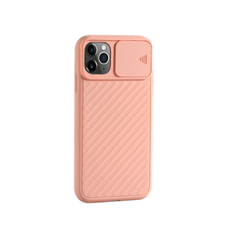 iPhone 11 Pro - Valence™ Cam-Slide Håndværker Cover - Rose