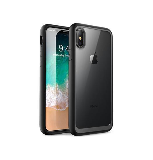 iPhone X | iPhone X/Xs - Deluxe NovaShield Smart Cover - Sort - DELUXECOVERS.DK