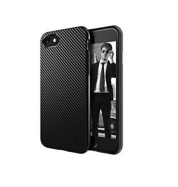 iPhone 5 / 5S / SE | iPhone 5 / 5s / SE MaxGear Carbon Fiber Cover - Sort - DELUXECOVERS.DK