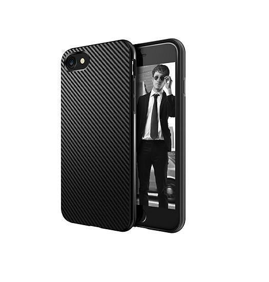 iPhone 5 / 5S / SE | iPhone 5/5s/SE - MaxGear Carbon Fiber Cover - Sort - DELUXECOVERS.DK