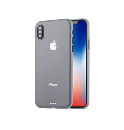 iPhone XS Max | iPhone XS Max - Ultratynd Matte Series Cover V.2.0 - Hvid - DELUXECOVERS.DK