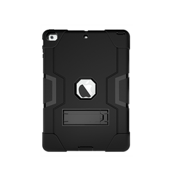 "iPad Air - 9.7"" - Deluxe™ Robust Stødsikkert TPU Cover  - Sort - DELUXECOVERS.DK"