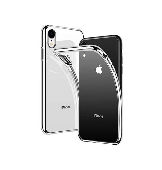 iPhone XR | iPhone XR - Valkyrie Silikone Hybrid Cover - Sølv - DELUXECOVERS.DK