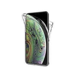 iPhone 11 | iPhone 11 - Full Cover 360 Silikone - Gennemsigtig - DELUXECOVERS.DK