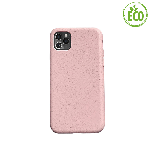 iPhone 11 Pro Max | iPhone 11 Pro Max - EcoCase™ Plantebaseret Bio Cover - Rose - DELUXECOVERS.DK