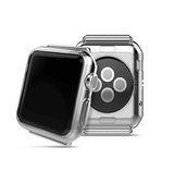 Apple Watch 42mm | Apple Watch (42MM) - Premium 0.3 Silikone Cover - Gennemsigtig - DELUXECOVERS.DK