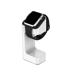 Apple Watch - Universal Oplader Stand / Holder Stativ - Hvid - DELUXECOVERS.DK