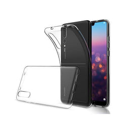Huawei P20 Pro | Huawei P20 Pro - Ultra-Slim Silikone Cover - Gennemsigtig - DELUXECOVERS.DK