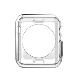 Apple Watch 40mm | Apple Watch (40MM) - Original 0.3 Silikone Cover Gennemsigtig - DELUXECOVERS.DK