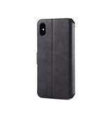 iPhone XS Max | iPhone XS Max - AZNS Diary Læder Cover Etui M. Pung - Sort - DELUXECOVERS.DK