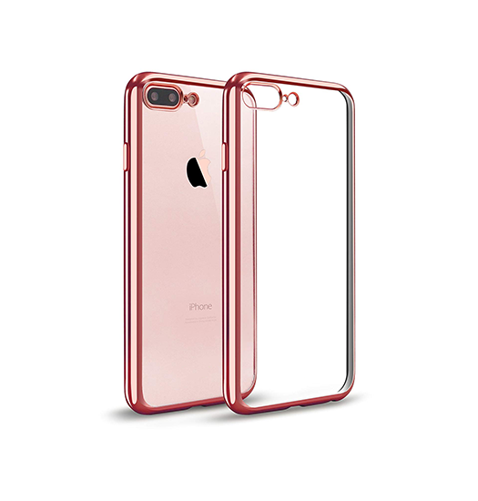 iPhone 7/8 Plus | iPhone 7/8 Plus - Flexible Silikone Cover - RoseGuld - DELUXECOVERS.DK