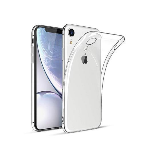iPhone XR | iPhone XR - Deluxe Ultra-Slim Silikone Cover - Gennemsigtig - DELUXECOVERS.DK