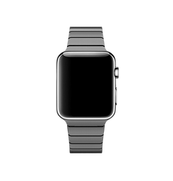 Apple Watch (42-44mm) Ferrum Rustfri Stål Rem Armbånd - Sort - DELUXECOVERS.DK