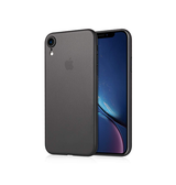 iPhone XR - Ultratynd Matte Series Cover V.2.0 - Sort - DELUXECOVERS.DK