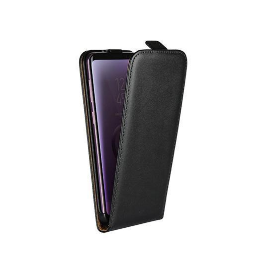 Samsung Galaxy S8+ | Samsung Galaxy S8+ - Diary Læder Etui M. Vertical Flip - Sort - DELUXECOVERS.DK