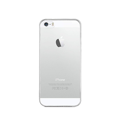iPhone 5/5s/SE - Ultra-Slim Silikone Cover - Gennemsigtig - DELUXECOVERS.DK