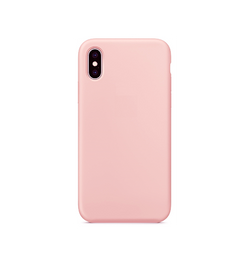 iPhone X/Xs - Deluxe™ Soft Touch Silikone Cover - Lyserød - DELUXECOVERS.DK
