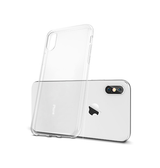 iPhone X | iPhone X/Xs - Ultra-Slim Silikone Cover - Gennemsigtig - DELUXECOVERS.DK