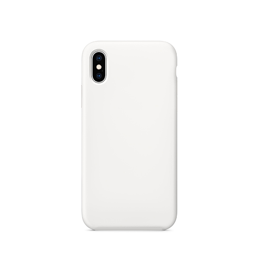 iPhone X/Xs - Deluxe Prestige Silikone Cover - Hvid - DELUXECOVERS.DK