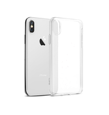 iPhone XS Max | iPhone XS Max - DeLX™ Ultra Silikone Cover - Gennemsigtig - DELUXECOVERS.DK