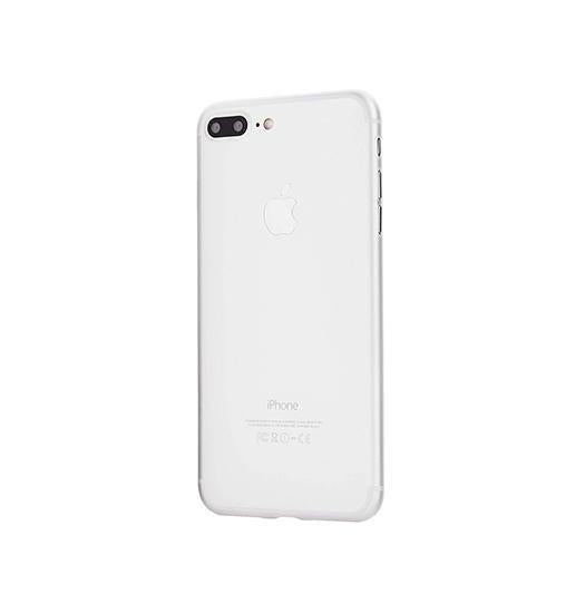 iPhone 7/8 Plus | iPhone 7/8 Plus - Ultratynd Matte Series Cover V.2.0 - Hvid - DELUXECOVERS.DK