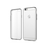 iPhone 6 / 6s | iPhone 6/6s - Ultra-Slim Silikone Cover - Gennemsigtig - DELUXECOVERS.DK