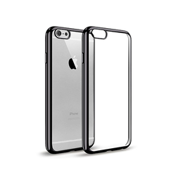 iPhone 6 Plus / 6s Plus | iPhone 6/6s Plus - BASEUS Slim Silikone Cover - Grå - DELUXECOVERS.DK