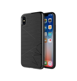iPhone X | iPhone X/XS - Delusion Abstract Designer Cover - Sort - DELUXECOVERS.DK