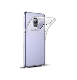Samsung Galaxy S9 | Samsung Galaxy S9 - Ultra Silikone Cover - Gennemsigtig - DELUXECOVERS.DK
