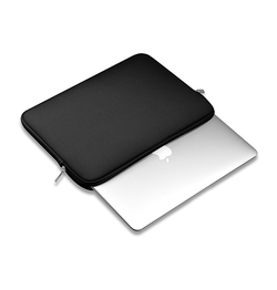 Macbook | Macbook - Realike Universal Neopren Clean Sleeve - Sort - DELUXECOVERS.DK
