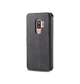 Samsung Galaxy S9+ | Samsung Galaxy S9+ (Plus) - AZNS Diary Læder Cover Etui M. Pung - Sort - DELUXECOVERS.DK