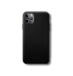 iPhone 11 Pro Max | iPhone 11 Pro Max - Superior Flex Læder Bag Cover - Sort - DELUXECOVERS.DK