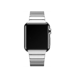 Apple Watch 42mm | Apple Watch (42-44mm) Ferrum Rustfri Stål Rem Armbånd - Sølv - DELUXECOVERS.DK