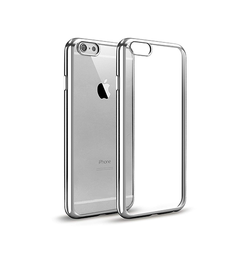 iPhone 6 Plus / 6s Plus | iPhone 6/6s Plus - BASEUS Slim Silikone Cover - Sølv - DELUXECOVERS.DK
