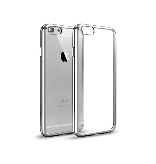 iPhone 6 / 6s | iPhone 6/6s - Valkyrie Slim Silikone Cover - Sølv - DELUXECOVERS.DK