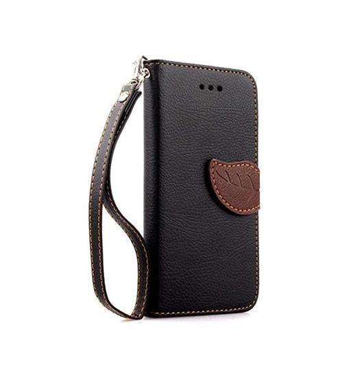 iPhone X | iPhone X/Xs - Reborn Leaf Wallet Etui M. Magnetlukning - DELUXECOVERS.DK