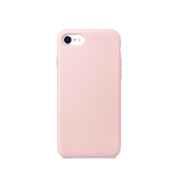 iPhone 7 / 8 | iPhone 7/8/SE - Deluxe™ Soft Touch Silikone Cover - Lyserød - DELUXECOVERS.DK
